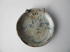 Ceramic plate by Chie Miyazaki