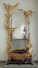 2014-04-06 Barcelone, Museu del Modernisme Català. Attribué à Joan Busquets i Jané (1874-1949), miroir jardinière, vers 1905 | Flickr - Photo Sharing!