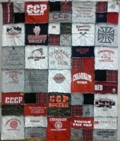 Custom Tshirt Quilt by bytillie on Etsy, $330.00