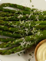 California Grown Asparagus with Parmesan #CAgrown