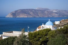 Agios Pavlos Church Greece Islands, More Photos, Taj Mahal, Greek, Landscape, Building, Nature, Travel, Greece