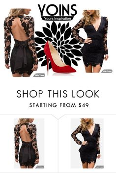 """""""Bez naslova #58"""" by softic013 ❤ liked on Polyvore featuring Christian Louboutin"""