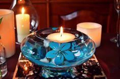 decoraciones con flores turquesas para fiestas de 15 - Buscar con Google