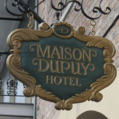 Maison Dupuy French Quarter Hotel. Where Mario and I got married on11/18/2006