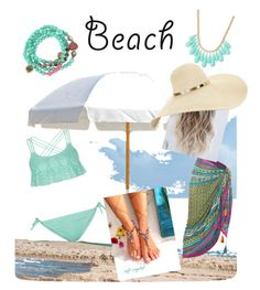 """""""Looking fabulous while having fun in the sun."""" by carebear47loves ❤ liked on Polyvore featuring Frankford, White Stuff, New Look, Betsey Johnson, INC International Concepts, summertime and coverups"""