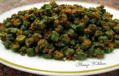 Blessy's Kitchen: Deep Fried Lady's Finger/ Deep Fried Okra http://www.blessyskitchen.com/2014/02/deep-fried-ladys-finger-deep-fried-okra.html