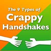 The 9 Types of Crappy Handshakes - The Oatmeal
