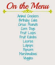 Circus Themed 1st Birthday!:Sullenger Blog