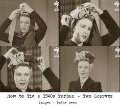 1940s-Fashion---How-to-make-a-Glamorous-Turban---Method-3