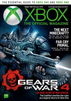 Xbox: The official Magazine 134. #GearsofWar4.