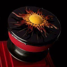 Entremet 'Eclipse' WCM 2011 #instabomb #worldchocolatemasters #chocolate #entremet #frankhaasnoot #cake