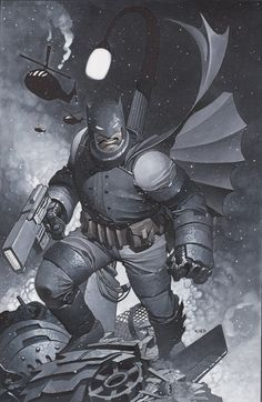 #Batman #Fan #Art. (The Dark Knight Returns) By: Christopher Stevens. (THE * 5 * STÅR * ÅWARD * OF: * AW YEAH, IT'S MAJOR ÅWESOMENESS!!!™)[THANK Ü 4 PINNING!!!<·><]<©>ÅÅÅ+(OB4E)                     https://s-media-cache-ak0.pinimg.com/564x/51/e4/b9/51e4b9d685190db4de90698b81468051.jpg