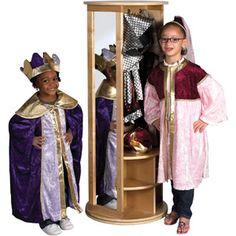 ECR4Kids Round Locker/Dress-Up Carousel