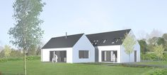 Modern self build house kits from Hebridean Contemporary Hom Self Build House Kits, Self Build Houses, House Designs Ireland, Affordable House Plans, Modern Prefab Homes, Ireland Homes, Scandinavian Home, Kit Homes, Architect Design