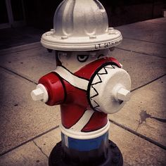 Fire Hydrant in Flag City, Ohio.