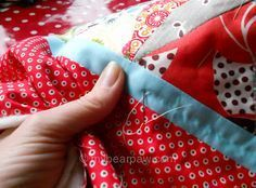 The most through and informative tutorial on hand quilting
