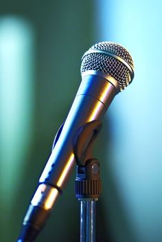 Microphone on stage Music Sing, Listening To Music, Singing, Karaoke, Small Portable Speakers, Netflix Codes, Hidden Movie, Josh Richards, Family Movies