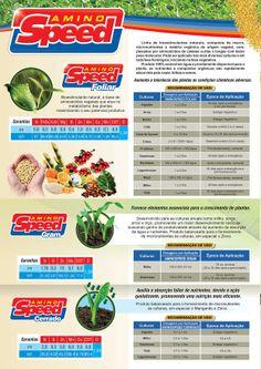 Folder da Linha Nutrição Vegetal - Amino Speed - Página 2/4