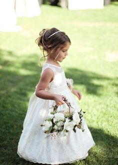 Flower girl - think about what each member of the bridal party will carry/wear in terms of florals