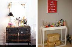 Incluye un mini bar en tu casa