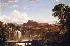 Frederic Edwin Church, New England Scenery, 1851