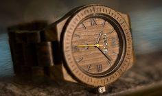 TEMPUS Silvestre Men's Wood Watch #TempusWoodWatches #NeverCompromise #WOMW Wooden Hangers, Ethical Brands, Original Gifts, Wooden Watch, Wood Work, Graduation Gifts, Christmas Shopping, Fathers Day Gifts, Anniversary Gifts