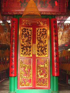 """While on Hollywood Road, also make sure you visit """"Man Mo Temple"""", which is one of the city's oldest and most atmospheric Chinese temples..."""