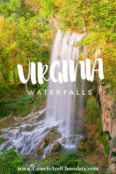 Chasing Waterfalls in Bath County, Virginia: A Homestead Resort Experience. Hiking along the Allegheny Mountain gorge trail to several waterfalls surrounded by stunning scenery was a great way to explore the natural beauty of Virginia | Camels and Chocolate