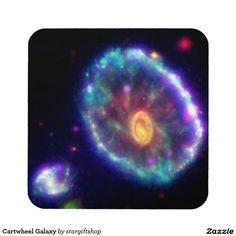 Cartwheel Galaxy Coaster
