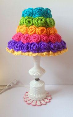 Stunning Crochet Lampshade