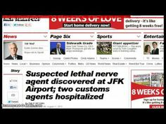 """http://pinterest.com/pin/7248049373324696/ Suspected Lethal Nerve Agent Discovered at JFK Airport! 2 Customs Agents Hospitalized! - """"Dahboo77? Freak... E.T. says: (You're talking out of both sides of your ass... But that's the New World Order for you... Are you for the government, or not the government? Which is it? You claim somethings happened to these people? Now you're blaming China? See that bucket sitting next to you? Stick your head in the bucket of shit lol lol lol)"""