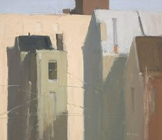 ۩۩ Painting the Town ۩۩ city, town, village & house art - Stuart Shils