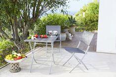 Un salon de jardin pliant pour la terrasse