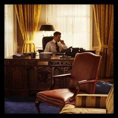 A portrait of President Paul Garcetti in the Oval Office #PoliticalAnimals (Taken with Instagram at Washington, DC)