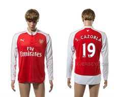 http://www.xjersey.com/201516-arsenal-19-scarzorla-home-long-sleeve-thailand-jersey.html 2015-16 ARSENAL 19 S.CARZORLA HOME LONG SLEEVE THAILAND JERSEY Only 33.11€ , Free Shipping!