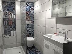 Σχέδια για ένα μικρό μπάνιο στο κέντρο της Θεσσαλονίκης. Οι τοίχοι έχουν…