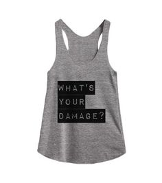 What's your Damage? Heathers @skreened