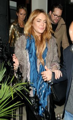 Radar Online | Late Night Lindsay? Lohan Looking Tired In London