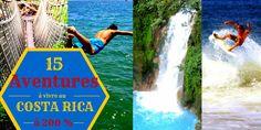 Etes-vous déjà parti en voyage au Costa Rica? Ce petit pays est incroyable pour les amateurs de sport, de nature et de culture! Et c'est parfait pour faire le plein de sensations fortes et d'actvités extrêmes! 15 aventures à vivre à 200% au Costa Rica dans mon dernier article!