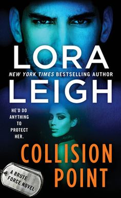 Collision Point by Lora Leigh (Brute Force #1)  The fiery Amara and the bad ass Riordian were a perfect match. They do make the pages sizzle. This a great read for those who like lots of sexual tension and smoking hot reads.  http://tometender.blogspot.com/2018/02/collision-point-by-lora-leigh-brute_16.html
