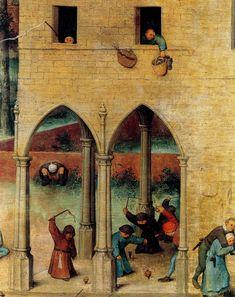 [clio team] 1560 bruegel l ancien jeux d enfants detail toupies sets of children detail spinning tops.jpg (2502×3157)