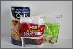 Save money and eat healthier by making your own homemade instant oatmeal packets. Basic recipe and variations at Sparkles of Sunshine.