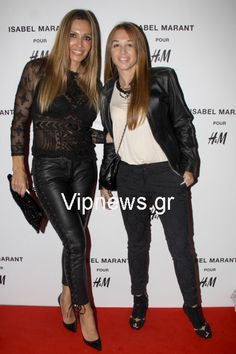 Twin moms at H&M fashion event for isabel marant collection launch
