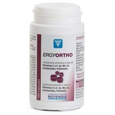 Ergyortho de Nutergia es un complemento nutricional en el que se nos presentan los mejores antioxidantes naturales.
