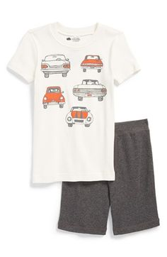 Tucker+++Tate+Sleep+Shirt+&+Shorts+(Toddler+Boys,+Little+Boys+&+Big+Boys)+available+at+#Nordstrom