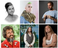 Photographer Makes An Impression By Sending Out Quirky Portraits via @Laughing Squid