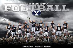 football team poster