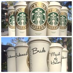 This listing is for 6 Personalized Starbucks cup, Personalize it any way you would like! Optional signed name is a vinyl decal that can be added to look like the cups you get at Starbucks! Starbucks Cup, Starbucks Personalized Coffee Cup, Reusable Coffee Mug, Personalized Coffee Mug, Reusable Coffee Cup, Personalized Coffee Cup  16oz STARBUCKS CUP -Reusable (and recyclable) -Personalized with commercial grade vinyl -Meant to be hand washed only -Not to be used in the microwave *Message me…