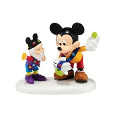 Department 56 North Pole Series Village Pin Trading with Mickey Accessory 2 -- You can find out more details at the link of the image.