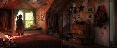 bedroom concept art - Recherche Google